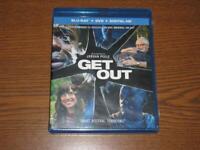 Get Out (Blu-ray/DVD, 2017, 2-Disc Set, Includes Digital Copy UltraViolet)