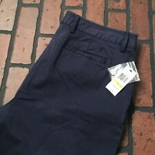Nautica Navy Ankle Length Pants Women's Size 14/29