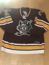 Chicago WOLVES Vintage Hockey Jersey MENS SZ 52 New