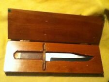 Sale! marked down from 1900.00 Rare custom k.c. largin bowie knife 440-C