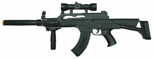 Kid Toy Military Gun Super Combat Rifle Flashing Light Vibration Realistic Sound