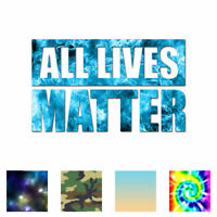 All Lives Matter Political - Decal Sticker - Multiple Patterns & Sizes - ebn3998