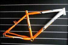 "Jbcpro Storm Alloy Mtb Frame 26"" * 18"" white Orange clear stock"