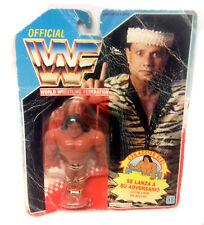 """VINTAGE anni'90 Hasbro WWF WWE WRESTLING Jimmy SNUKA 4"""" giocattolo figura sigillato in scatola"""