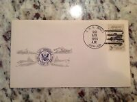Navy FDC First Day Cover: 1958 USS Mills DER - 383 Edsall Class Destroyer Escort