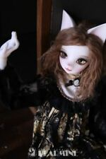 1/4 BJD DOLL cute cat doll animal body free eyes with face make up