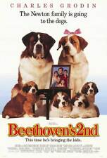 BEETHOVEN'S 2ND Movie POSTER 27x40 Charles Grodin Bonnie Hunt Nicholle Tom