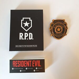 Resident Evil Official R.P.D RPD Numskull Pin Badge Cosplay Rare Limited Leon BN