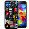 Horror Movie Collage Rubber Case Fits Samsung S10 S9 S8 S7 Scary Terror