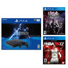 PlayStation 4 Slim 1TB Star Wars Bundle + Dissidia Final Fantasy NT + NBA 2K17