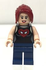 LEGO Marvel Super Heroes MARY JANE Spider-Man's Girlfriend Mini-figure Authentic