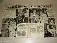 GIANFRANCO D'ANGELO DRIVE IN=CLIPPING=ARTICOLO=RITAGLIO=RIVISTA=FOTO=PHOTO=AU22=