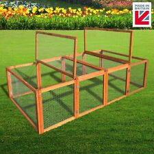 6ft Canterbury Folding Rabbit Run Guinea Pig Run Collapsable Cage Pen Run