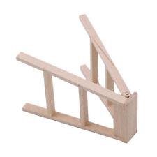 Children Toy Doll House Miniature Garden Shop Furniture Wooden Ladder 8C