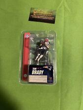 McFarlane NFL 3 Inch Tom Brady New England Patriots Silver Jersey