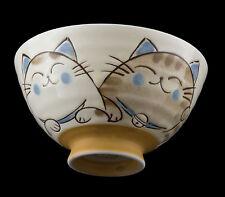 Schüssel Reis- Katze japanisch Maneki neko 12.4 cm Porzellan