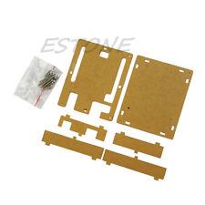 Clear Acrylic Box Enclosure Transparent Case Box for Arduino Uno R3 Board R3 1pc