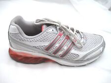 d27f0e0f7e7 Adidas size 8M Boost silver orange running womens ladies tennis athletic  shoes