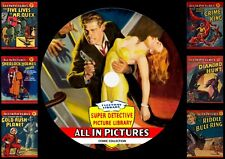 Super Detective Picture Library Comics On DVD Rom