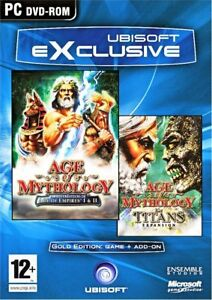 Age of Mythology Gold with Titan Expansion  Enter a world of mighty armies   NEW