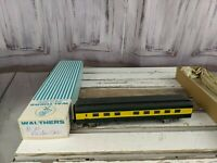 C&W coach passenger nw parlor unmarked northwestern green yellow train car toy H