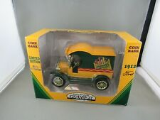 GEAR BOX CRAYOLA Coin Bank 1912 FORD 1:24 Scale Limited Edition