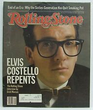 Elvis Costello ROLLING STONE Magazine Issue 377 CCR Go Go's September 2nd 1982!!
