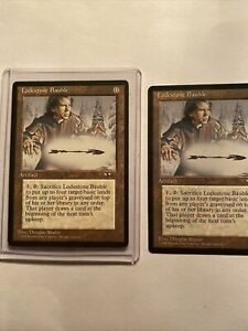 Lodestone Bauble Rare Magic Card Lot Of 2 from Alliances Series