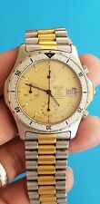 Vintage Pre TAG HEUER 2000  Chronograph  Quartz 200m Mens watch Cal. 185 Nice