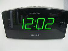 Philips AJ3400/37 BIG DISPLAY Clock Radio Digital FM Tunning Time Dual Alarm