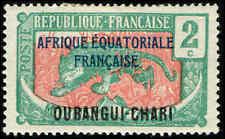 Scott # 42 - 1924 - ' Leopard ', Ovptd. AFRIQUE-EQUATORIALE FRANCAISE