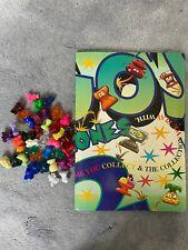 Vintage Crazy Bones Bundle And Very Rare Sticker book set / Game instructions