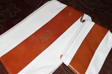 Mark & Graham Canvas & Leather Cosmetics Bag Set NWOT Free Shipping MSRP $60 A/T