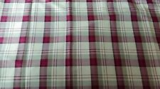 "DUNELM MILLS, BALMORAL RED LINED EYELET CURTAINS, 90"" WIDE X 54"" DROP,"