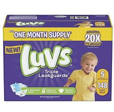 Luvs Ultra Leakguards Diapers Size5, -148 ct. (27+ lb.)