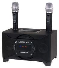 VocoPro KaraokeDual 100W Tablet/Smart TV Karaoke System & Dual Wireless Mic's