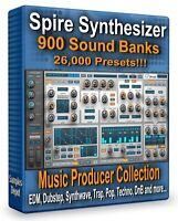 Spire 900 Soundbanks Pack 26000 Presets - Ableton Live, Cubase, FL Studio Logic
