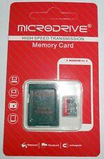 32GB Micro SD card plus Adapter SD class 10 MICRODRIVE