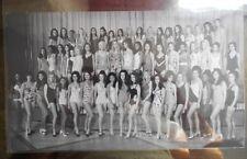 Miss World 1970 Swimsuit Line-Up press photo original - wonderful!