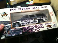 #12-18 BRICKYARD 400 1994 OFFICIAL TRUCK BANK CHEVY SUBURBAN SCALE 1/25 SCALE DI
