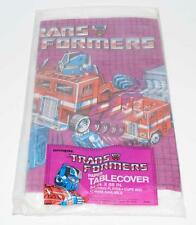 "Optimus Prime Tablecover 54"" x 88"" 1984 Hasbro G1 Transformers Action Figure"