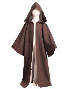 Kids STAR WARS Jedi/Sith Robe Darth Vader Hooded Cloak Cape Child Cosplay Gift