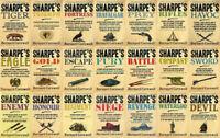 Bernard Cornwell - Complete Sharpe Series Collection (23 Books in MP3 Audio)