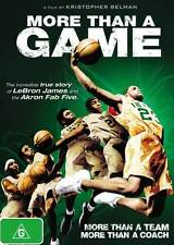 More Than a Game * NEW DVD * LeBron James Akron Fab Five basketball documentary