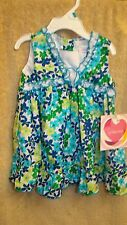 Youngland Baby Girl Floral Eyelet Sun Dress Spring Summer 18M NEW