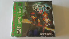 CHRONO CROSS/ Neuf sous blister / jeu Playstation 1 - PS one / NTSC US