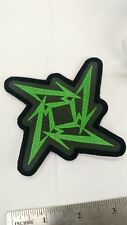 Metallica Embroidered Patch Ninja Star USA Seller Fast Delivery Thrash Metal