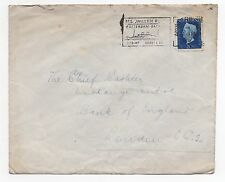 1947 NETHERLANDS Cover AMSTERDAM To LONDON GB SG647 Bank of England SLOGAN