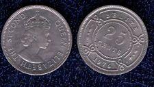 BELIZE 25 CENT 1976 CU/NI  FDC  british honduras mrm