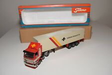 X TEKNO SCANIA 142H 142 TRUCK WITH TRAILER TIELBEKE TRANSPORT BV N MINT BOXED
